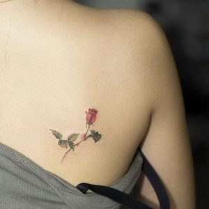 Small Rose Tattoo for Girls