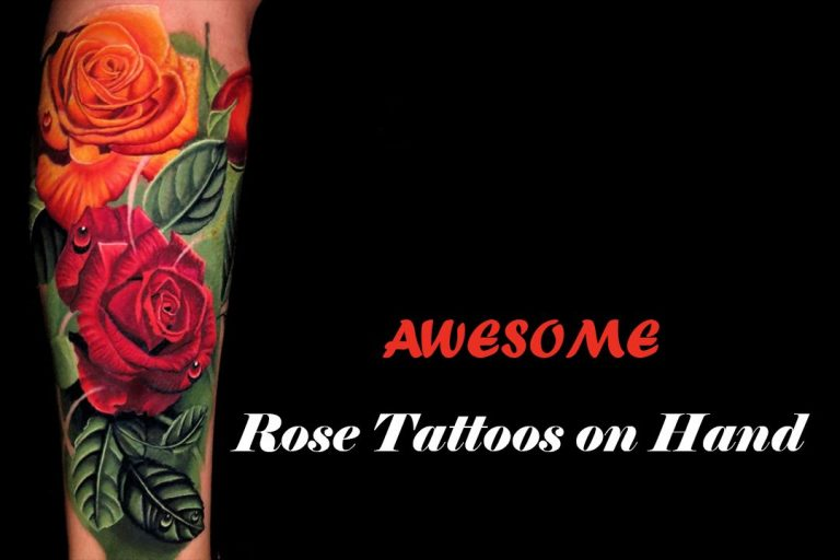 17 Best Ideas of Rose Tattoos on Hand with Images