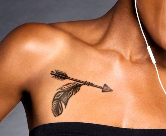 Meaningful Arrow Tattoo Designs with Images