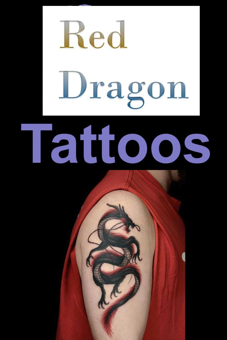 8 Best Red Dragon Tattoos Ideas to Try