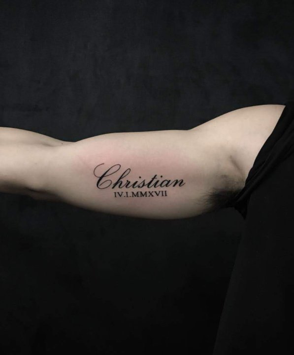 42 Girlfriends Name Tattoo Ideas To Impress Your Love