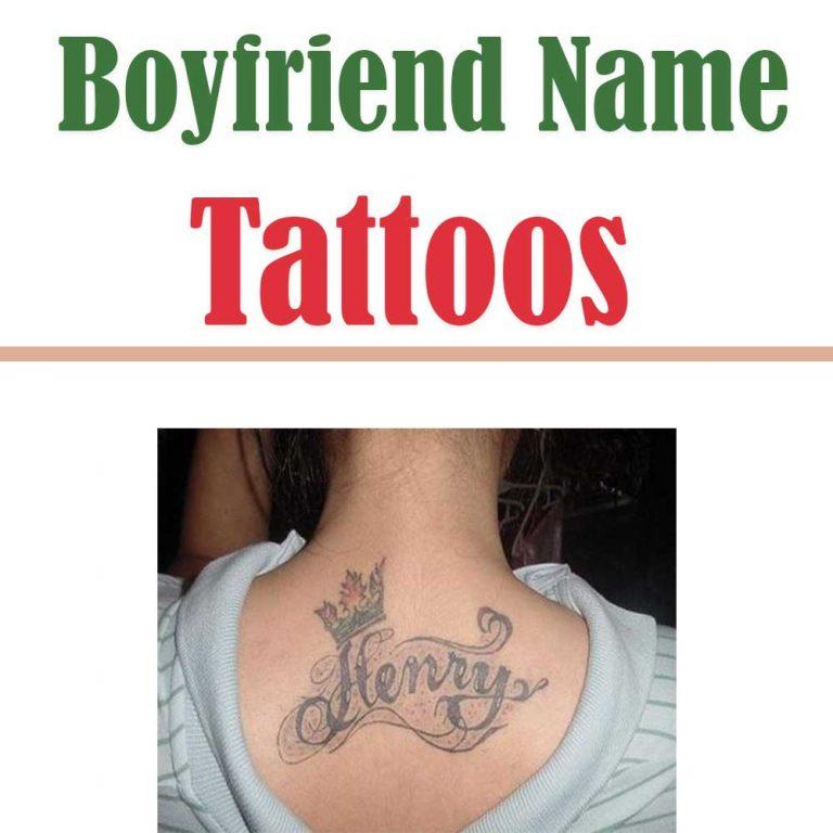 33 Unique Boyfriend Name Tattoos for Girls