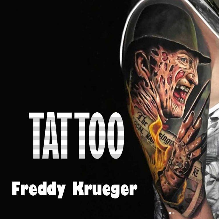 17 Scary Freddy Krueger Tattoo Designs & Meaning