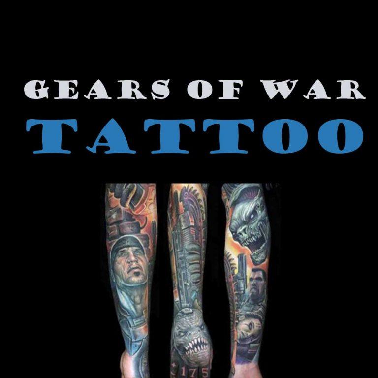 13 Meaningful Gears of War Tattoo Ideas