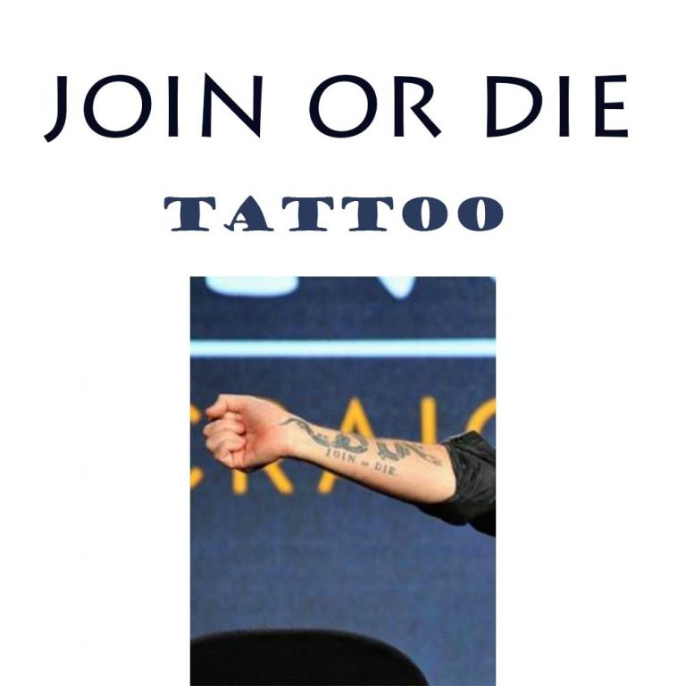 Join or Die Tattoo: 17 Enthralling Ideas to Copy