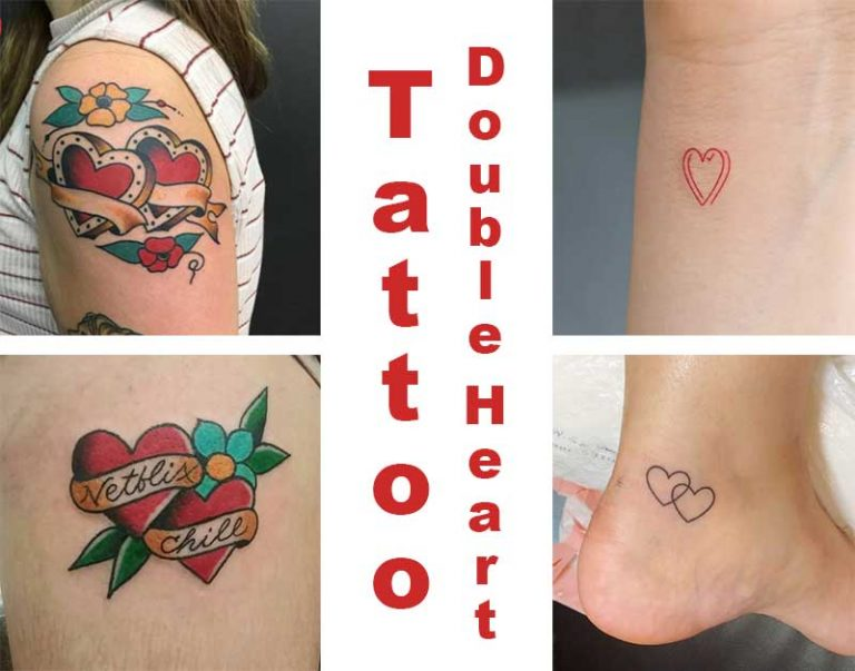 48 Double Heart Tattoo Ideas With Meaning