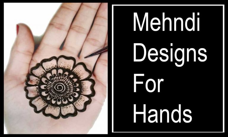 19 Modern Mehndi Designs For Hands to Try