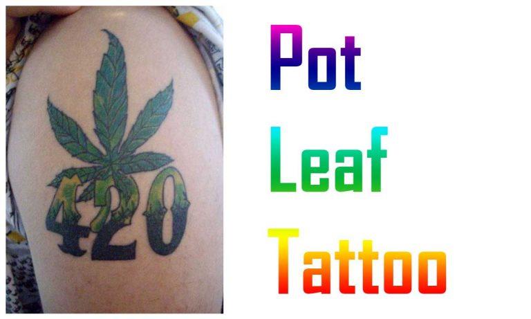 52 Simple Pot Leaf Tattoo Ideas
