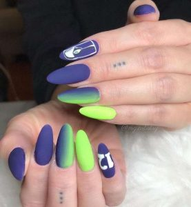Seahawks Nails Decals