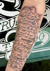 Serenity Tattoo Scripts
