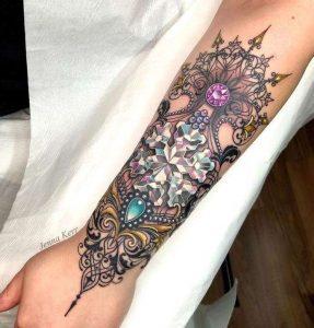 Traditional Gem Tattoos