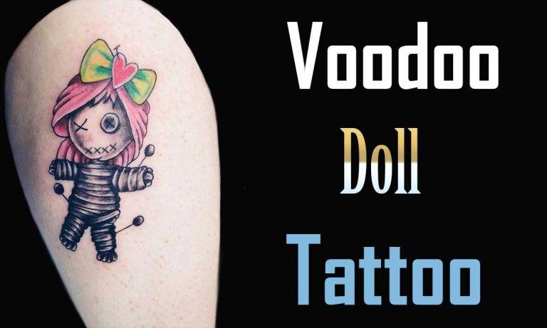 29 Effigy Voodoo Doll Tattoo Ideas & Meaning