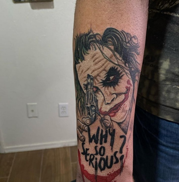 Why Serious Tattoo On Lower Arm
