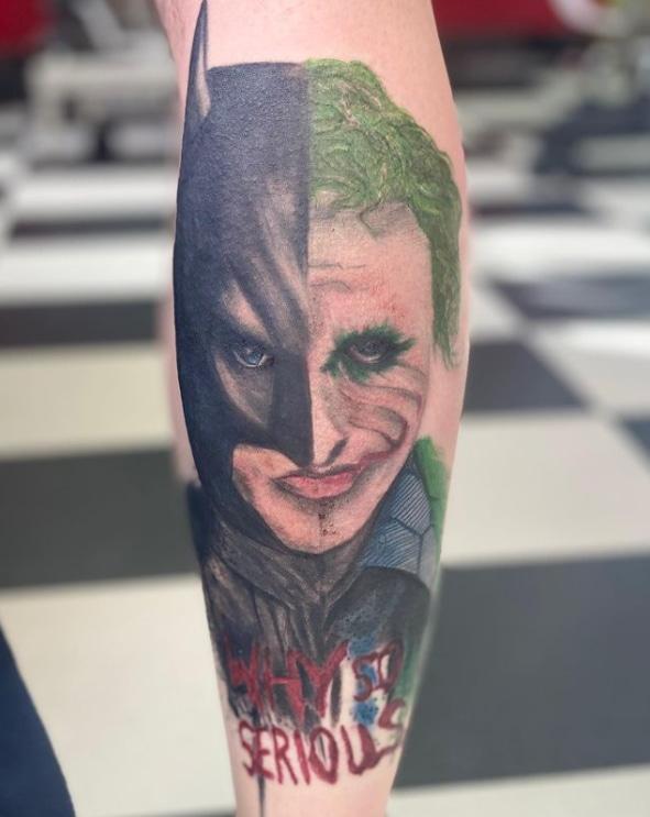 Batman Vs Joker Why Serious Tattoo