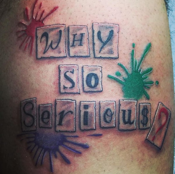 Why Serious Tattoo Font