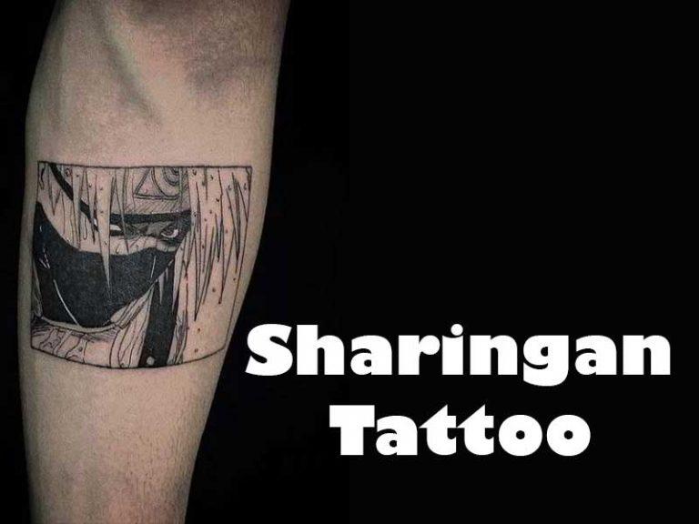 9 Best Sharingan Tattoo Ideas for Anime Lovers