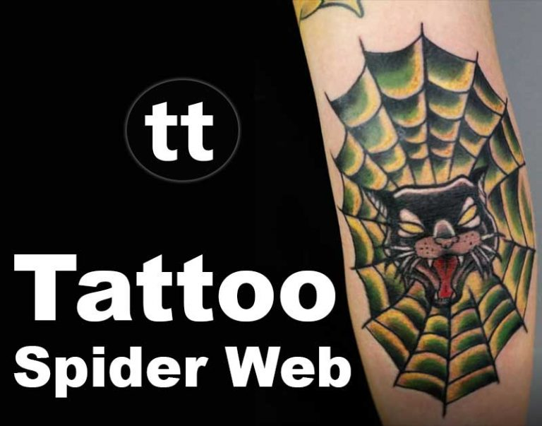 66 Meaningful Spider Web Tattoo Designs